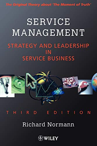 9780471494393: Service Management: Strategy and Leadership in the Service Business