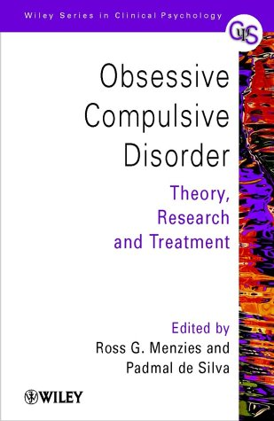 9780471494447: Obsessive-Compulsive Disorder: Theory, Research and Treatment (Wiley Series in Clinical Psychology)