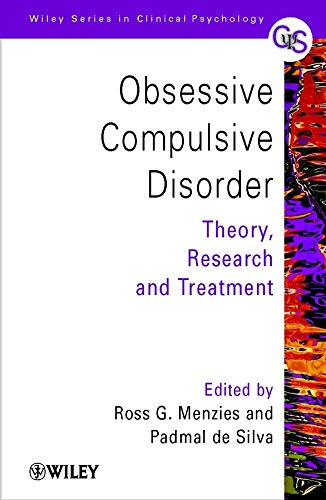 9780471494454: Obsessive-Compulsive Disorder: Theory, Research and Treatment (Wiley Series in Clinical Psychology)