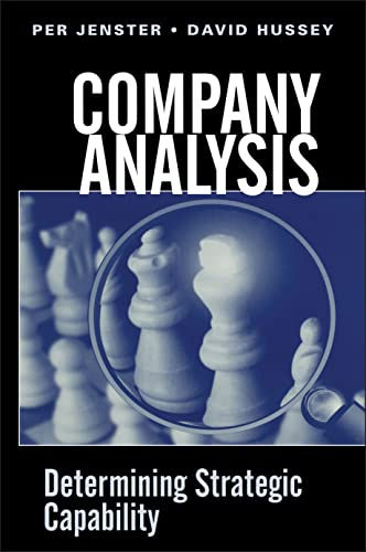 9780471494546: Company Analysis: Determining Strategic Capability (Wiley Series in Practical Strategy)