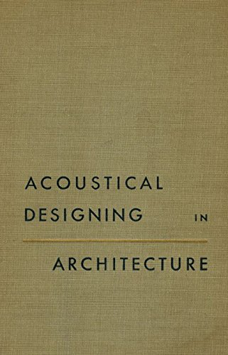 9780471496328: Acoustical Designing in Architecture