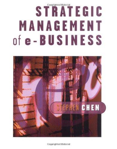 9780471496335: Strategic Management of e-Business