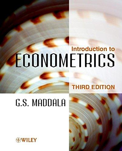 9780471497288: An Introduction to Econometrics