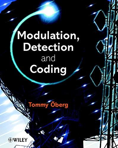 9780471497660: Modulation, Detection and Coding