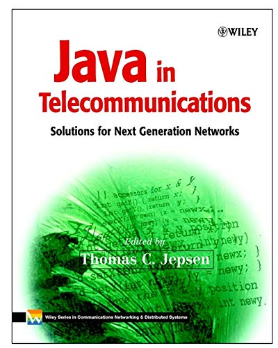 9780471498261: Java in Telecommunications: Solutions for Next Generation Networks