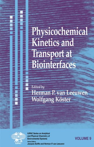 Physicochemical Kinetics and Transport at Biofaces: v. 9 (Hardback)