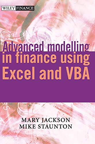 9780471499220: Advanced Modelling in Finance Using Excel and VBA (Wiley Finance Series)