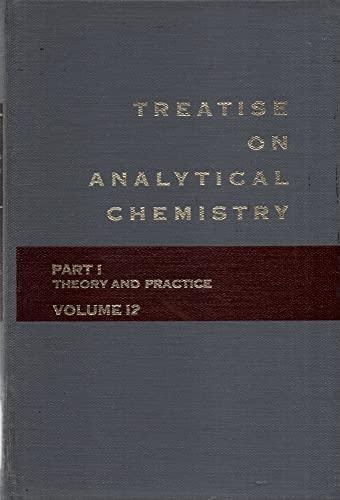 9780471499688: Treatise on Analytical Chemistry: Cumulative Index Pt. 1, v. 12
