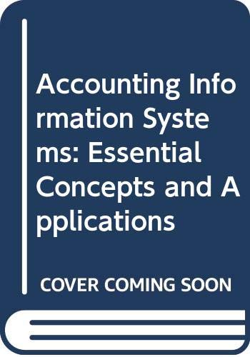 9780471503224: Accounting Information Systems: Essential Concepts and Applications