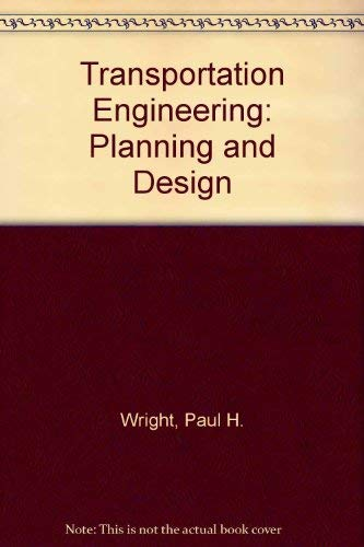 9780471503286: Transportation Engineering: Planning and Design