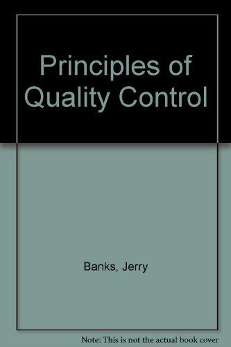 9780471503552: Principles of Quality Control