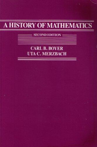 9780471503576: History of Mathematics