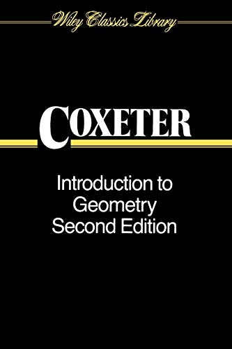 9780471504580: Introduction to Geometry (Wiley Classics Library)