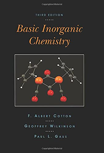 9780471505327: Basic Inorganic Chemistry