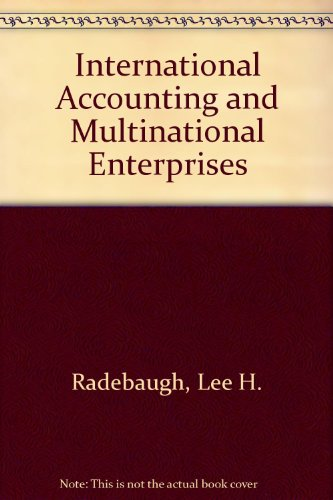 9780471506348: International Accounting and Multinational Enterprises