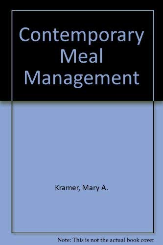 9780471506805: Contemporary Meal Management
