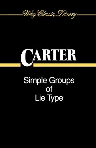 9780471506836: Simple Groups of Lie Type (Wiley Classics Library)