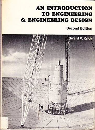 9780471507406: Introduction to Engineering and Engineering Design