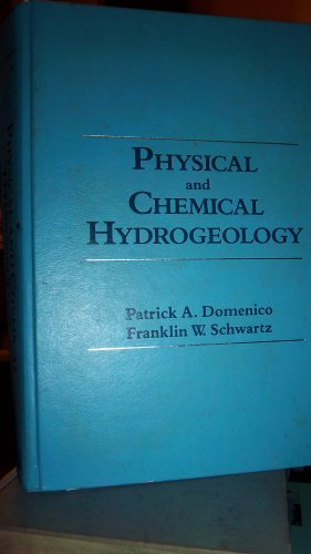 9780471507444: Physical and Chemical Hydrogeology