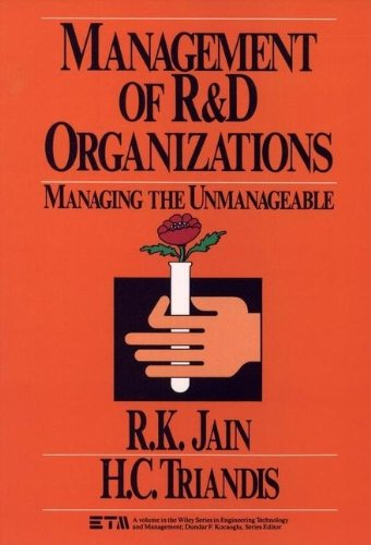 9780471507918: Management of Research and Development Organizations: Managing the Unmanageable (Wiley Series in Engineering and Technology Management)