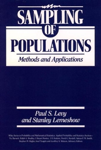 9780471508229: Sampling of Populations: Methods and Applications
