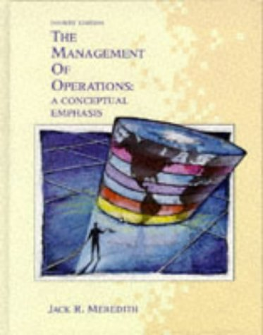 9780471509097: The Management of Operations: A Conceptual Emphasis (Wiley Series in Production/Operations Management)