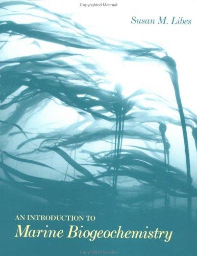 9780471509462: An Introduction to Marine Biogeochemistry