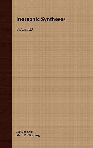 Volume 27, Inorganic Syntheses