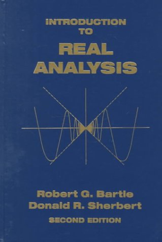 9780471510000: Introduction to Real Analysis