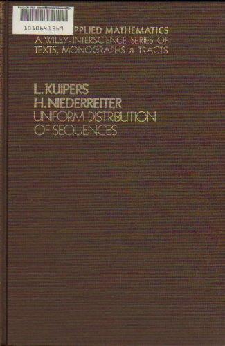 9780471510451: Uniform Distribution of Sequences (Pure & Applied Mathematics Monograph)