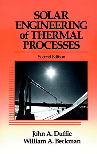 9780471510567: Solar Engineering of Thermal Processes