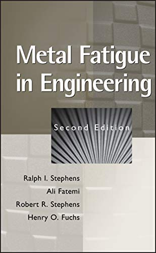 9780471510598: Metal Fatigue in Engineering (Mechanical Engineering)