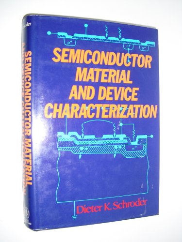 9780471511045: Semiconductor Material and Device Characterization