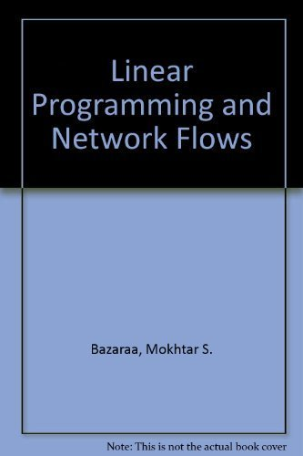 9780471512844: Linear Programming and Network Flows