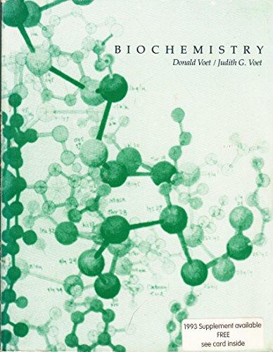 9780471512875: Biochemistry