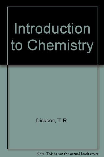9780471512936: Introduction to Chemistry