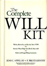 9780471512967: The Complete Will Kit