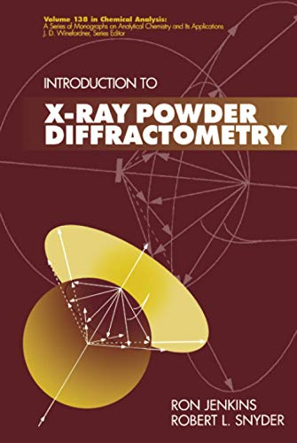 9780471513391: X-Ray Powder (Chemical Analysis: A Series of Monographs on Analytical Chemistry and Its Applications)