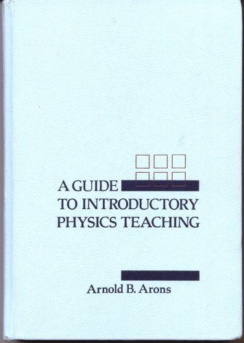 9780471513414: A Guide to Introductory Physics Teaching
