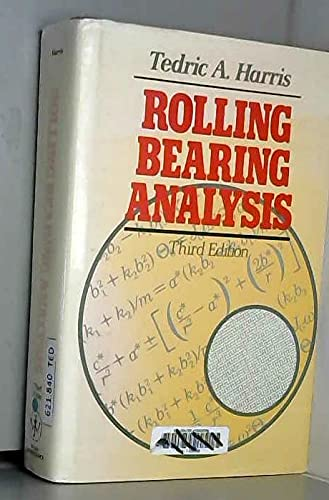9780471513490: Rolling Bearing Analysis