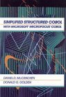 9780471514077: Simplified Structured Cobol with Microsoft Microfocus Cobol