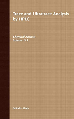 9780471514190: Trace and Ultratrace Analysis by Hplc