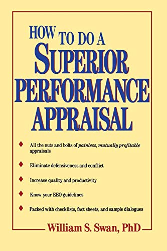 9780471514688: How to Do a Superior Performance Appraisal