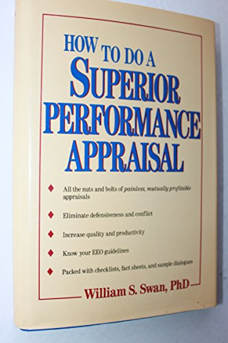 9780471514695: How to Do a Superior Performance Appraisal