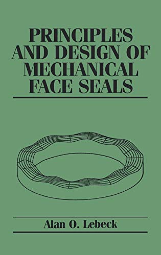 9780471515333: Principles and Design of Mechanical Face Seals