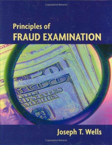 9780471517085: Principles of Fraud Examination