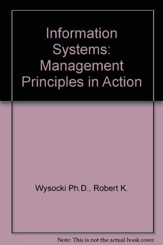 9780471517368: Information Systems: Management Principles in Action