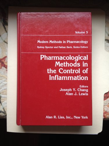 9780471517641: Pharmacological Methods in the Control of Inflammation (Modern Methods in Pharmacology)