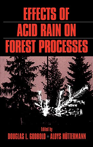 Effects of Acid Rain on Forest Processes (Hardback)