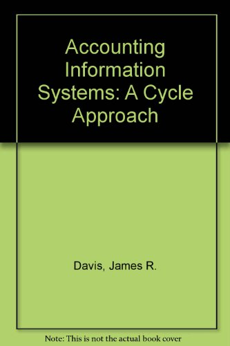 9780471517733: Accounting Information Systems: A Cycle Approach
